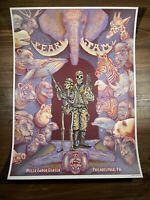 Pearl Jam Art Print Poster By Emek Streaming Event 10/22/2020 Philadelphia PA