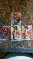 2019-20 Mosaic Karl Malone Hall of Fame prizm lot of 5 pink silver red