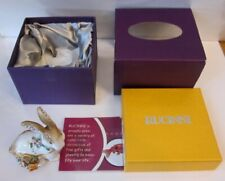 Beautiful Rucinni Rabbit Swarovski Crystal Trinket Box Mint In The Box RB1666BN