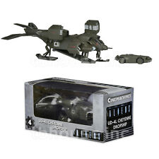 DROPSHIP CHEYENNE UD-4L with APC diecast metal ALIENS CINEMACHINES vehicle NECA