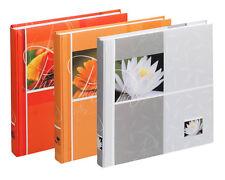 3 Fotoalben Flower 30x30 cm 100 weiße Seiten Foto Album Fotobuch