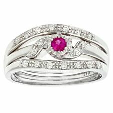 Sapphire Good Cut I1 Fine Diamond Rings