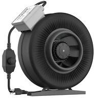 "VIVOSUN 6"" inch 440 CFM Inline Duct Fan Exhaust Air Blower w/ Speed Controller"