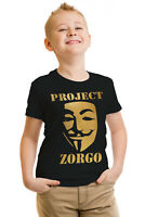 Project Zorgo Kids T-shirt Youtuber Gaming Boys Girl Chad Clay Children T-shirt