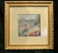 Beautiful Print with Wood and Resin Frame