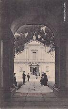 # OROPA: FACCIATA DELLA CHIESA  1910