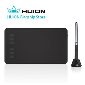 HUION H640P Graphics Tablet Art Drawing 8192 Pressure Battery-free Stylus Pen