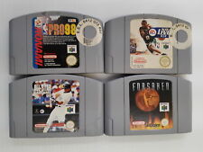 LOT OF 4 NINTENDO 64 *EUROPEAN* GAMES