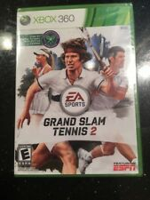 Grand Slam Tennis 2 (Microsoft Xbox 360, 2012) Brand New Factory Sealed