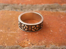 VINTAGE TAXCO, MEXICO FLORAL RING, SZ 6.25 (3M121) .925 STERLING SILVER Gorgeous
