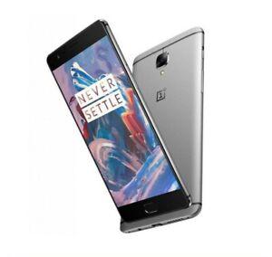 OnePlus 3T A3003 Dual SIM 6GB RAM - 128GB (Unlocked) Silver/Grey Smartphone