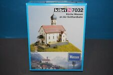 RF13] Kibri N Artikel 7032 Kirche Wassen / Gotthardbahn - Neuware / OVP