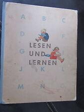 Lesen und Lernen-FIBEL-Hans Baltzer-DDR 1950er Jahre