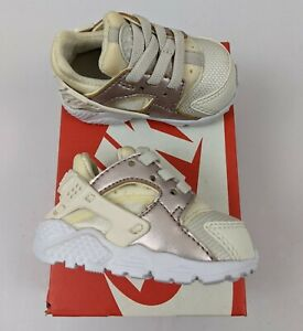 Nike Toddlers Huarache Run Running Shoes Size 2C Phantom Brand New (704952014)