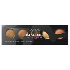 L'Oreal Concealer Infallible Total Cover Palette 10g - 02 Tan To Deep