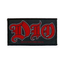 DIO official Patch BANDLOGO gewebter Aufnäher - Ronnie James Dio - Heavy Metal