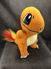"Pokemon GO Nintendo Charmander 7"" Soft Plush Toy Factory Doll Fire Tail- Clean!"