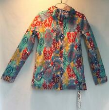 Burton Women's Radiant Snow Ski Winter Jacket Kasbah Multi Color Print XS NEW