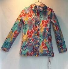 Burton Women's Radiant Snow Ski Winter Jacket Kasbah Multi Color Print XS NEW