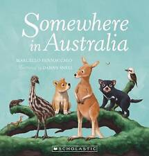 Somewhere in Australia Children's Reading Picture Story Book Marcello Pennachio