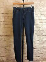 MAX JEANS Women's Stretch Skinny Denim Blue jeans - Tag Size 6