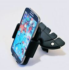 Universal Car Dash CD Slot Cell Phone Holder Mount for Samsung Galaxy S6 S7 Edge