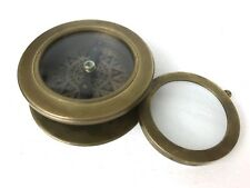 T.Cooke and Sons - Brass Compass and Magnifier Glass