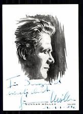 Gunnar Möller  Autogrammkarte Original Signiert TOP## BC 1379