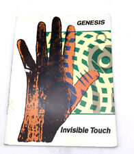 GENESIS Invisible Touch Songbook Sheet Music Songs Guitar Chords Piano Lyrics