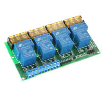 New 4-Channel DC 12V Volt 30A Relay Module Control Board Output Capacity A2J0