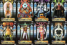 Banpresto One Piece Jinbei Hancock Warlords figure Complete 8 Set NEW JAPAN F/S