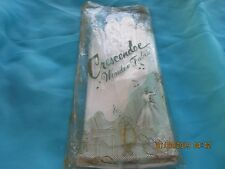 Vintage Short White Short Vinyl Gloves by Crescendoe