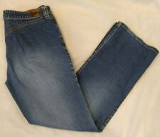 Vintage Lawman Womens Blue Straight Leg No Pockets on Rear 80s Style Jeans 9/10