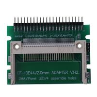 1X( IDE 44 Pin Male to CF Compact Flash Male Adapter Connector S8E9)