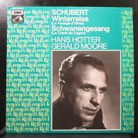 Hotter - Schubert: Winterreise / Schwanengesang Mint- 2 LP France 2 C151-01274/5