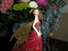 Nene Thomas Echoes of Autumn Fairy Figurine BNIB by Munro makers of Faerie Glen
