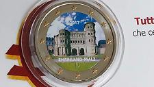 2 euro 2017 GERMANIA color farbe cor kleu Allemagne Alemania Deutschland Germany