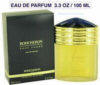 Boucheron Pour Homme - Perfume for Men 3.4oz - 100ml Eau De Parfum Spray, New