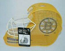 New Boston Bruins NHL Metal Wire Helmet Cork Cage Wine Bottle Holder