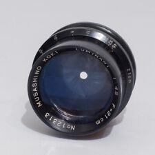 Musashino Koki Luminant 210 mm f 4,5 - f 45 lens, for Rittreck Optika 6x9 SLR !!