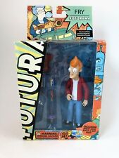 Futurama Fry Figure with Exclusive Robot Devil Build-a-Bot Part Toynami 2007
