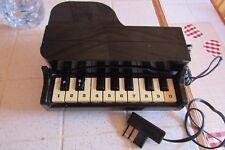 Téléphone Piano  noir Vintage