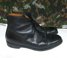 British Army Military Surplus Black Leather George Dress / Parade Boots - 8 L