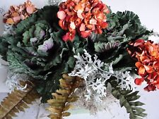 """Savvy Fall Tuscan Silk Flower Arrangement for your 18""""-24""""L Window Box Spans 30"""""""