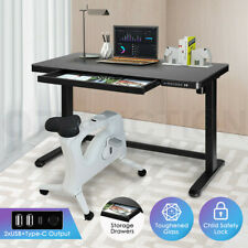 Electric Motorised Standing Desk Height Adjustable Sit Stand Up Desk Home Office