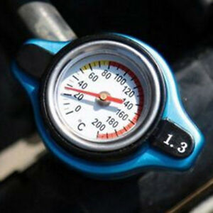 1.3 Bar Thermo Thermostatic Radiator Cap Cover Water Temperature Gauge Tank lid