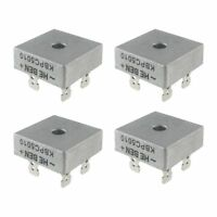 4X 50A 1000V Metal Case Single Phases Diode Bridge Rectifier KBPC5010 Z2L4