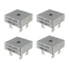 4X 50A 1000V Metal Case Single Phases Diode Bridge Rectifier KBPC5010 Z2L4