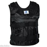 Zooboo Adjustable Weighted Vest Weight Jacket Exercise Fitness Boxing Training