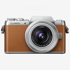 Panasonic GF8 Digital Camera Twin Lens Kit 12-32mm Brown Silver